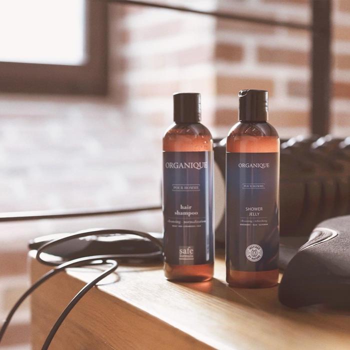 szampon do włosów dla mężczyzn, żel pod prysznic dla mężczyzn